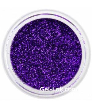Блёстки для ногтей Фиолетовые №55