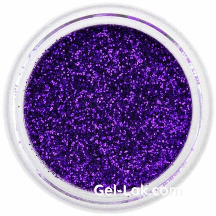 Фиолетовые блёстки для ногтей №55