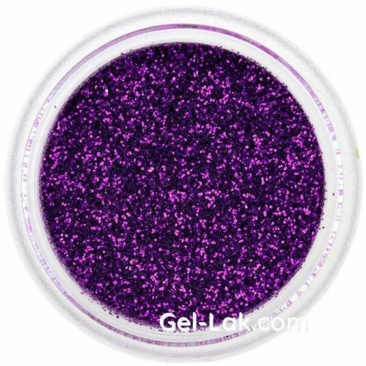 Фиолетовые Индиго блёстки для ногтей №61
