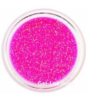 Блёстки для ногтей Ярко Розовые Голографические №78