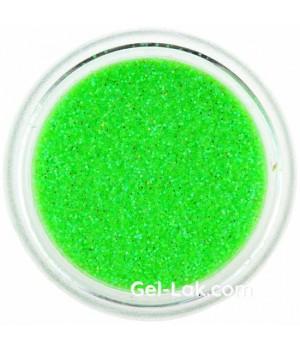Блёстки для ногтей Кислотно Зеленые Голографические №91