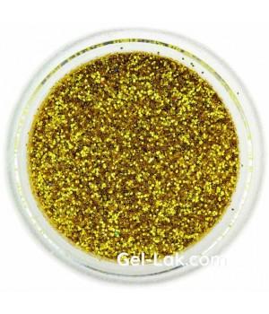 Блёстки для ногтей Лимонное Золото №09