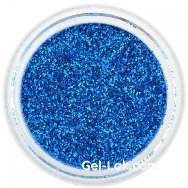 Светло Синие блёстки для ногтей №45