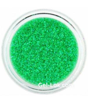 Блёстки для ногтей Светло Зеленые Голографические №82