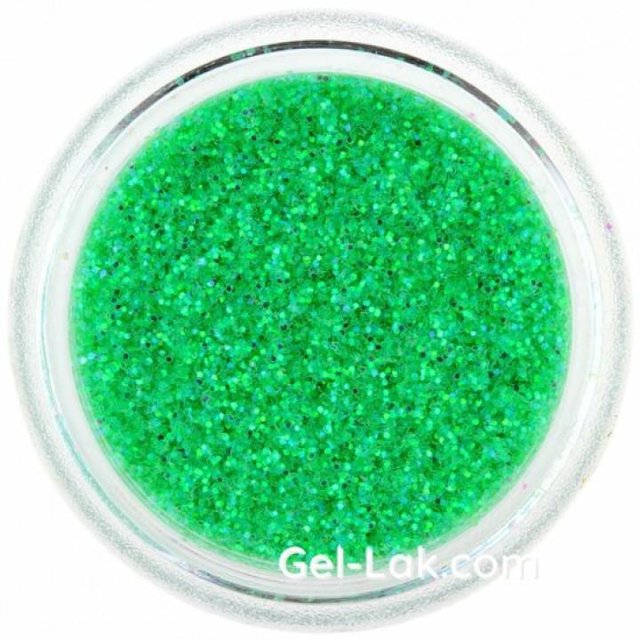 Светло Зеленые Голографические блёстки для ногтей №82