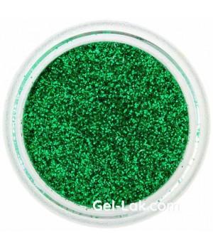 Блёстки для ногтей Зелёные №39