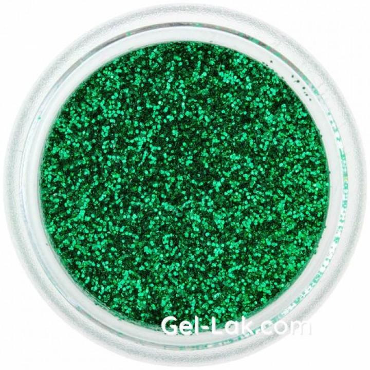 Тёмно Зелёные блёстки для ногтей №41