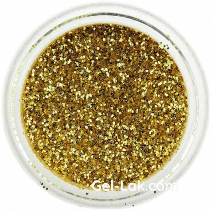 Золото блёстки для ногтей №15