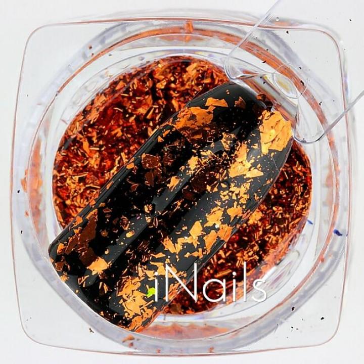 Фольга Платиновая для дизайна ногтей №04