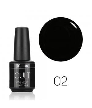 Гель лак CULT №02 Black