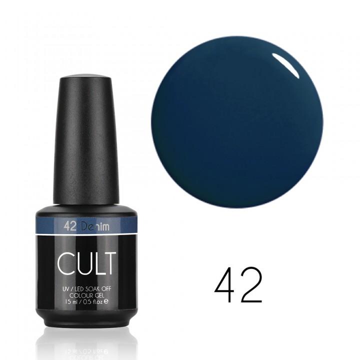Гель лак для ногтей CULT Denim №42