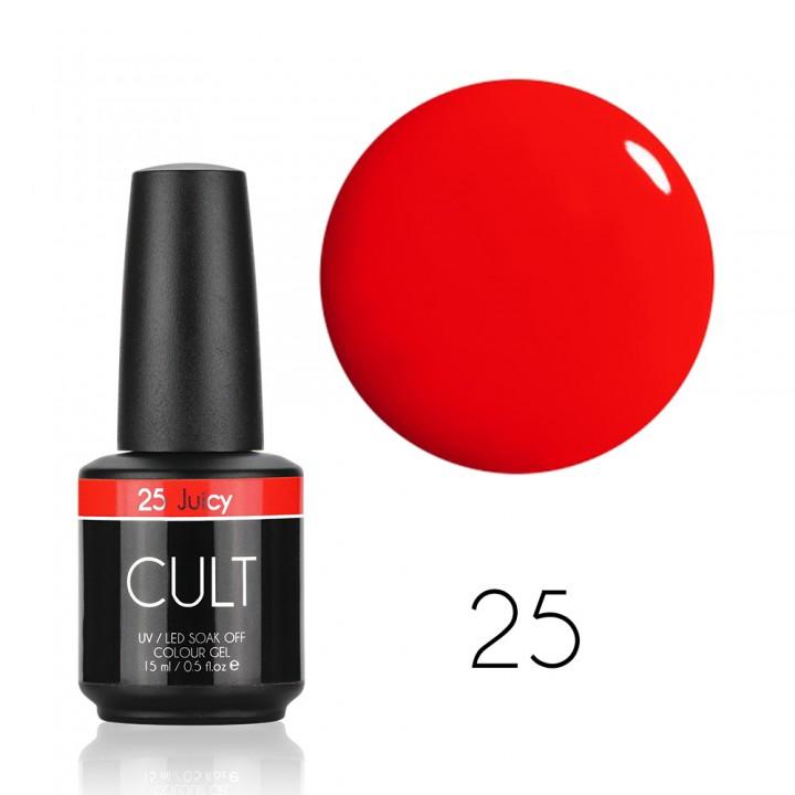 Гель лак для ногтей CULT Juicy №25