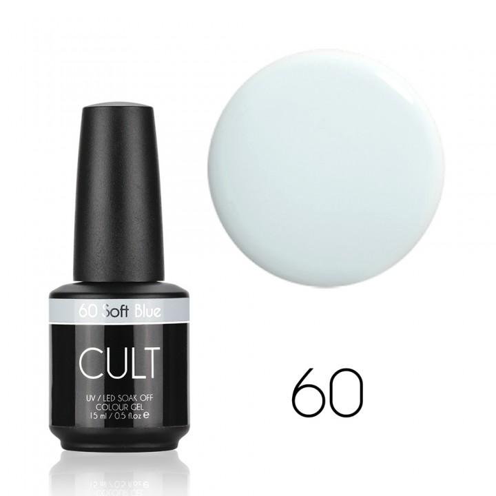 Гель лак для ногтей CULT Soft Blue №60