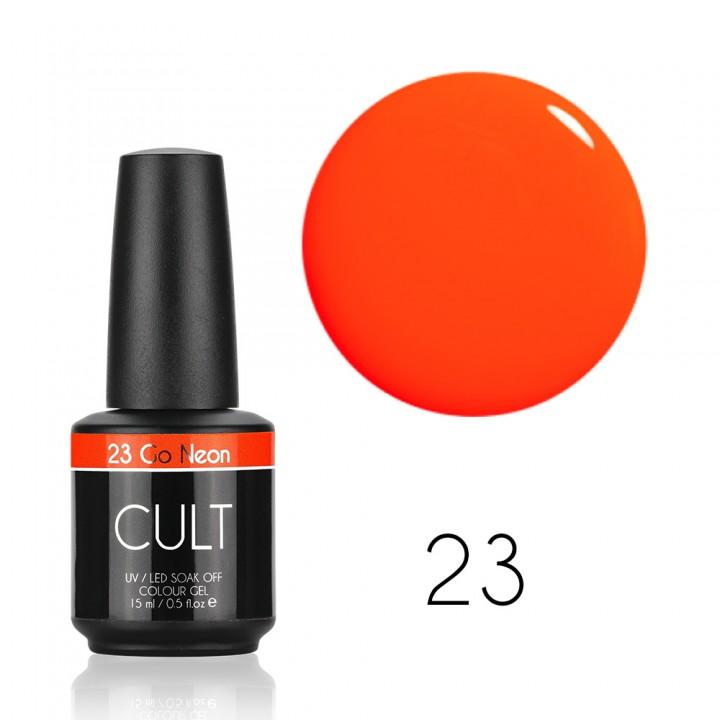 Гель лак для ногтей CULT Go Neon №23