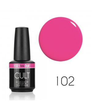 Гель лак CULT №102 Pink Doll 15 мл