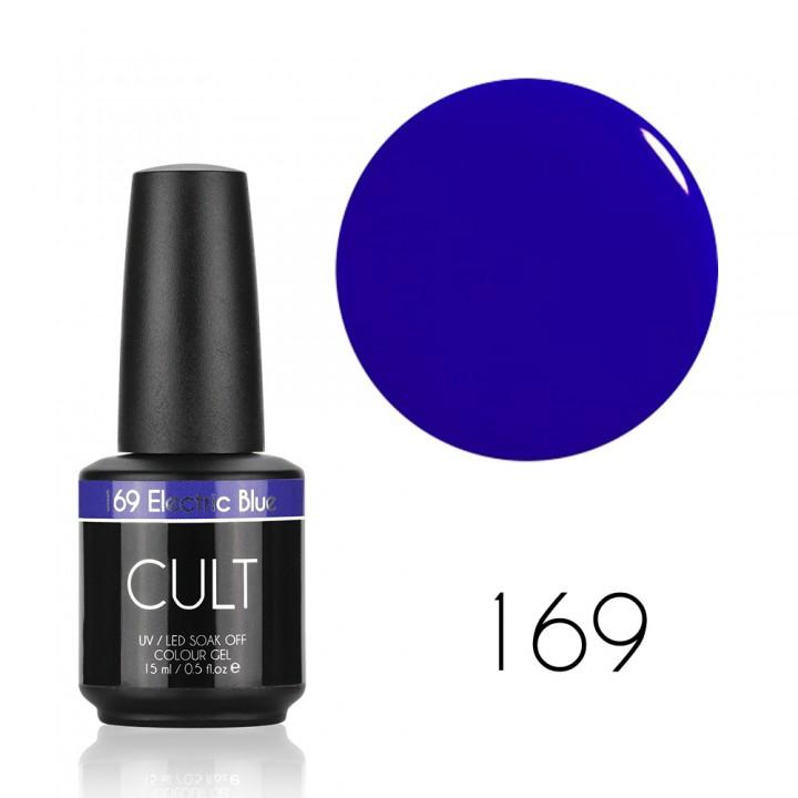 Гель лак для ногтей CULT 169 Electric Blue