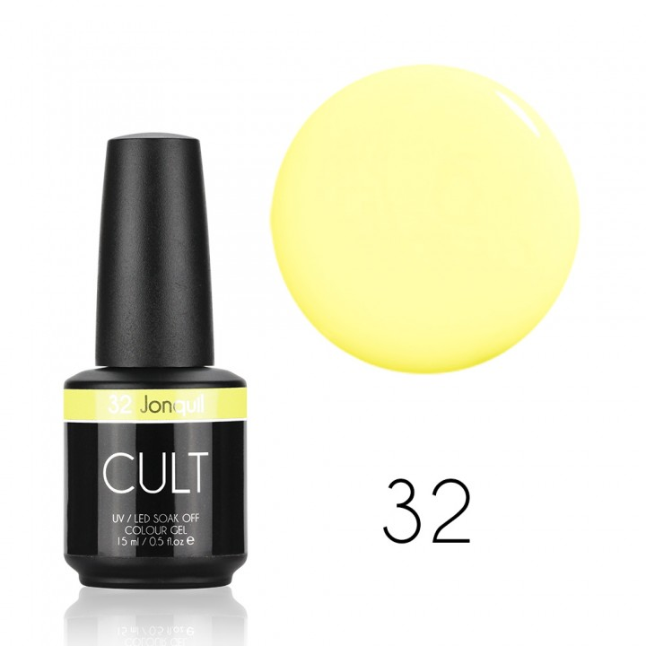 Гель лак для ногтей CULT Jonquil №32