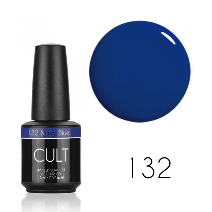 Гель лак для ногтей CULT №132 Navy Blue
