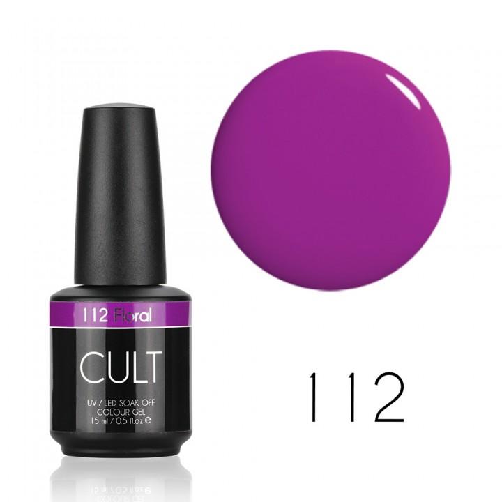 Гель лак для ногтей CULT №112 Floral