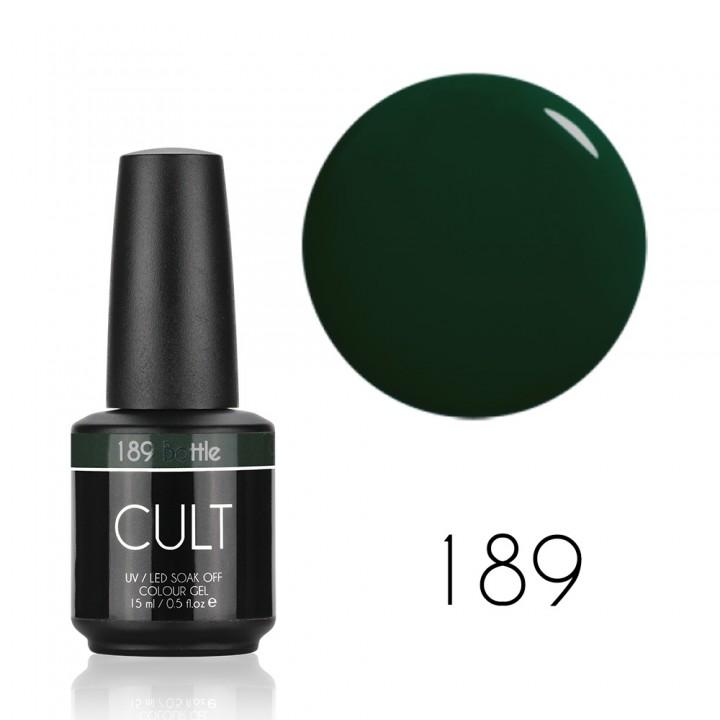 Гель лак для ногтей CULT №189 Bottle 15 мл