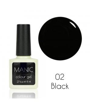 Гель лак MANIC №02 Black