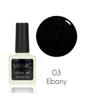 Гель лак MANIC №03 Ebony