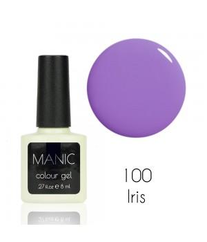 Гель лак MANIC №100 Iris