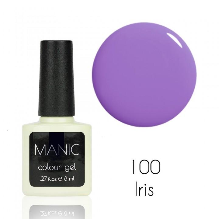 Гель лак для ногтей MANIC №100 Iris