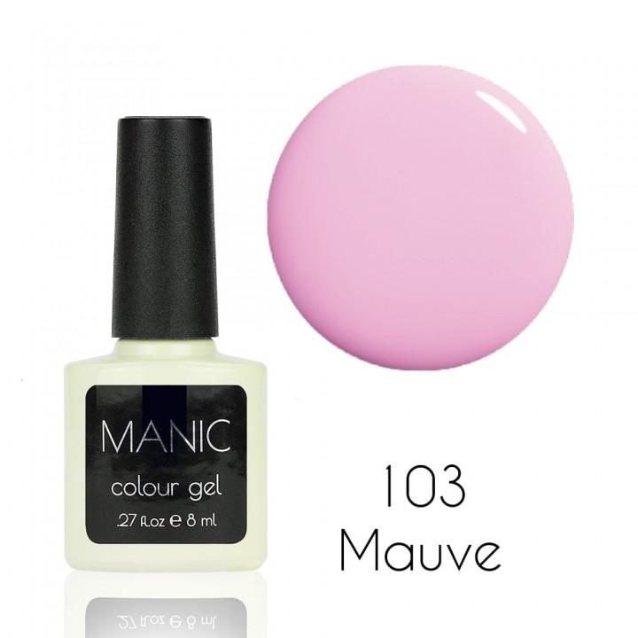 Гель лак для ногтей MANIC №103 Mauve