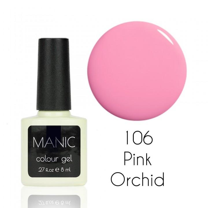 Гель лак для ногтей MANIC №106 Pink Orchid