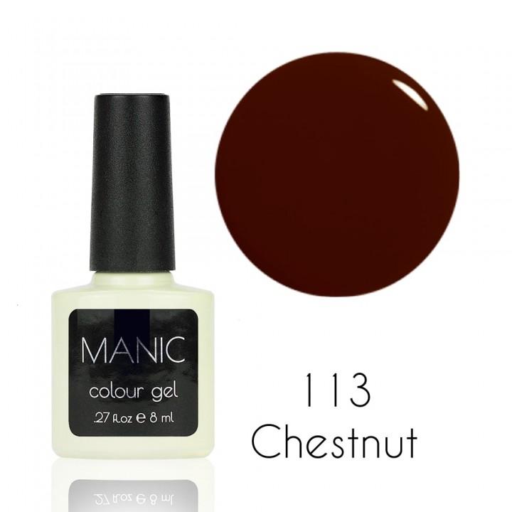 Гель лак для ногтей MANIC №113 Chestnut