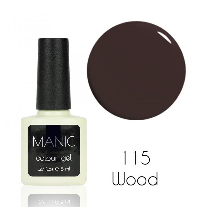 Гель лак для ногтей MANIC №115 Wood