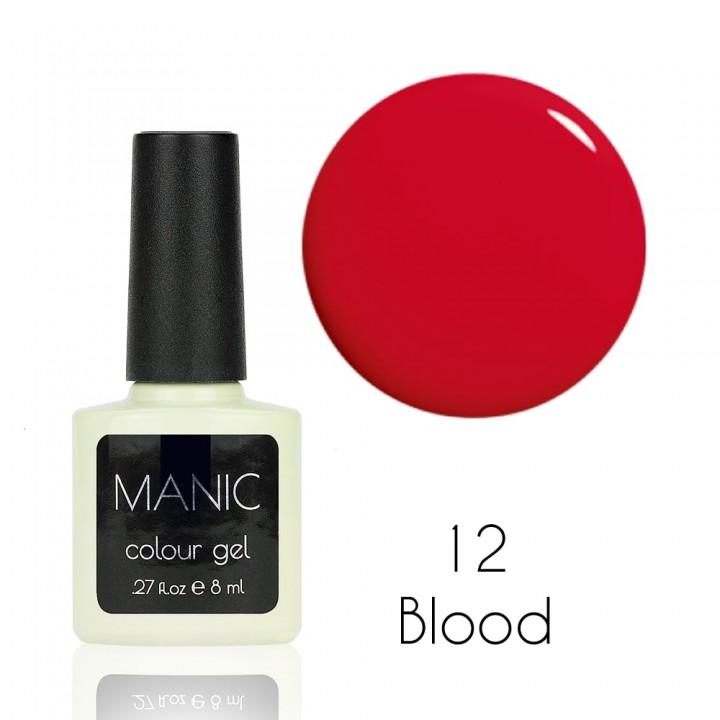 Гель лак для ногтей MANIC №12 Blood