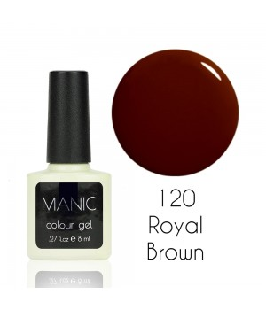 Гель лак MANIC №120 Royal Brown