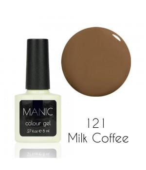 Гель лак MANIC №121 Milk Coffee