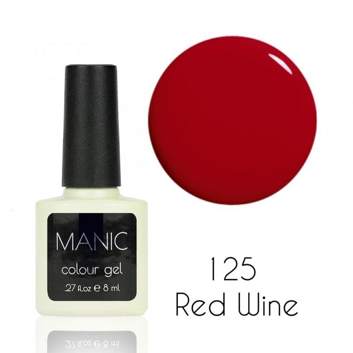 Гель лак для ногтей MANIC №125 Red Wine