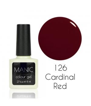 Гель лак MANIC №126 Cardinal Red