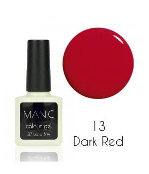 Гель лак MANIC №13 Dark Red