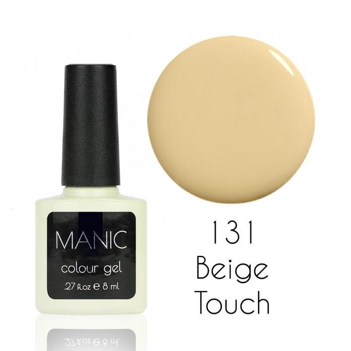 Гель лак для ногтей MANIC №131 Beige Touch