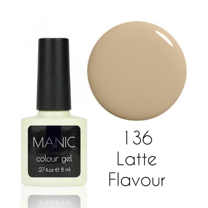 Гель лак для ногтей MANIC №136 Latte Flavour