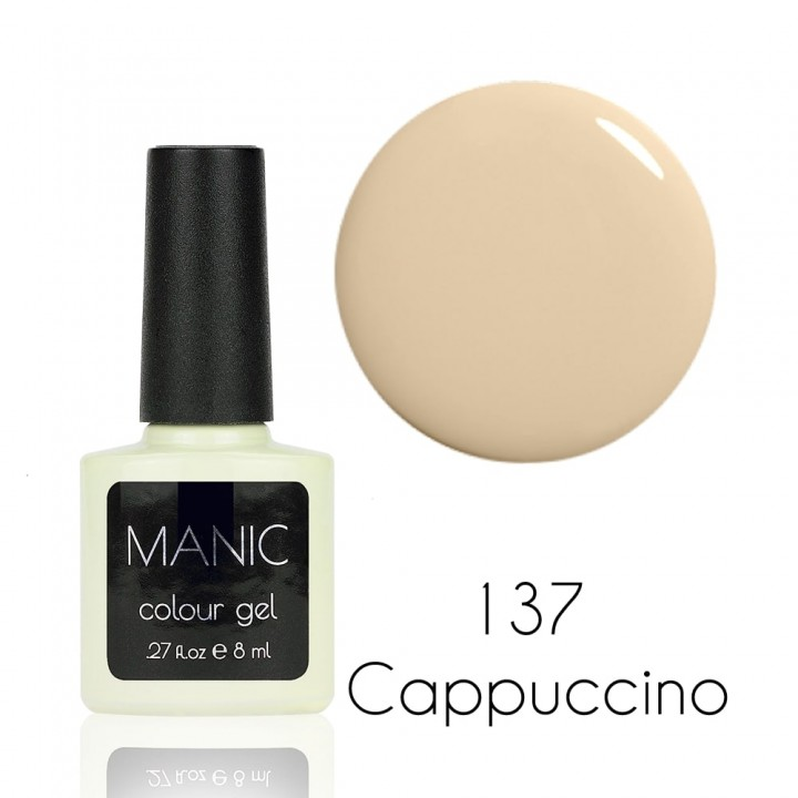 Гель лак для ногтей MANIC №137 Cappuccino