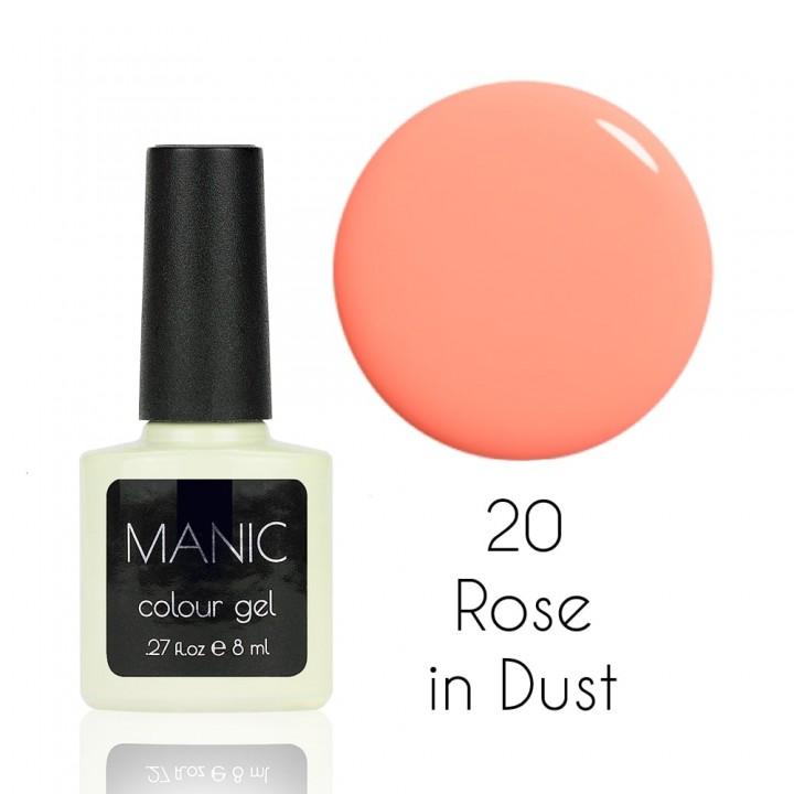 Гель лак для ногтей MANIC №20 Rose in Dust