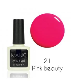 Гель лак MANIC №21 Pink Beauty