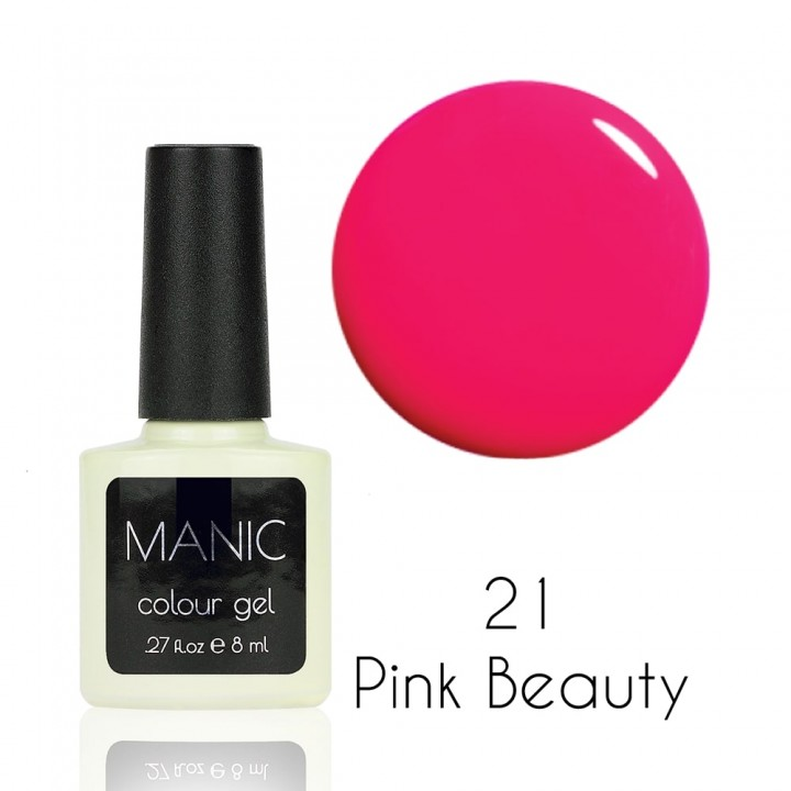 Гель лак для ногтей MANIC №21 Pink Beauty