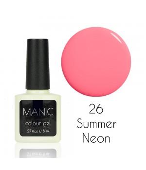 Гель лак MANIC №26 Summer Neon