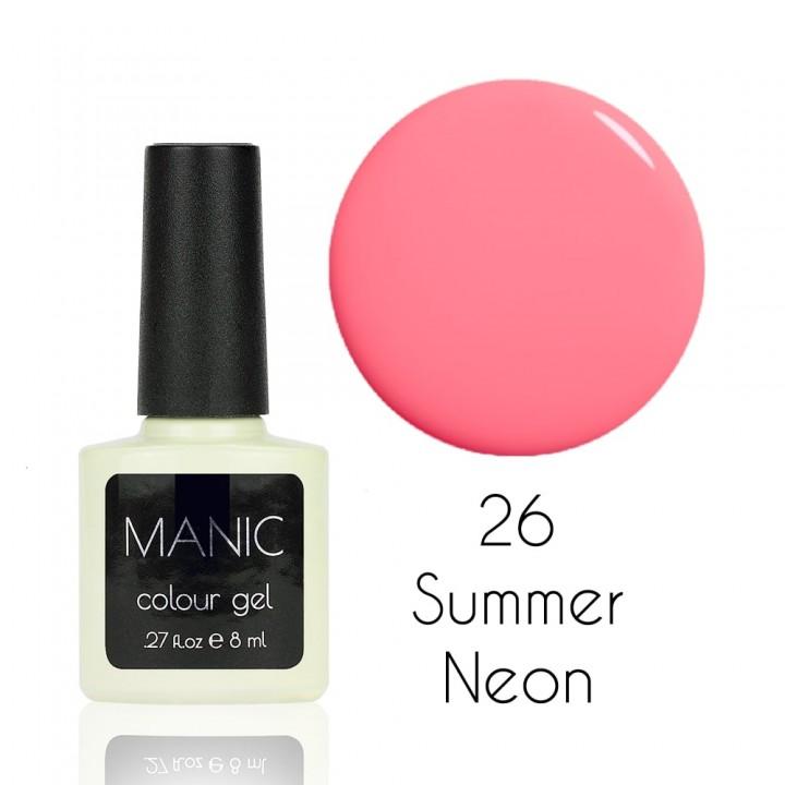 Гель лак для ногтей MANIC №26 Summer Neon