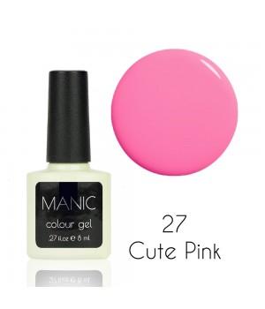Гель лак MANIC №27 Cute Pink