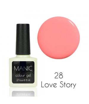 Гель лак MANIC №28 Love Story