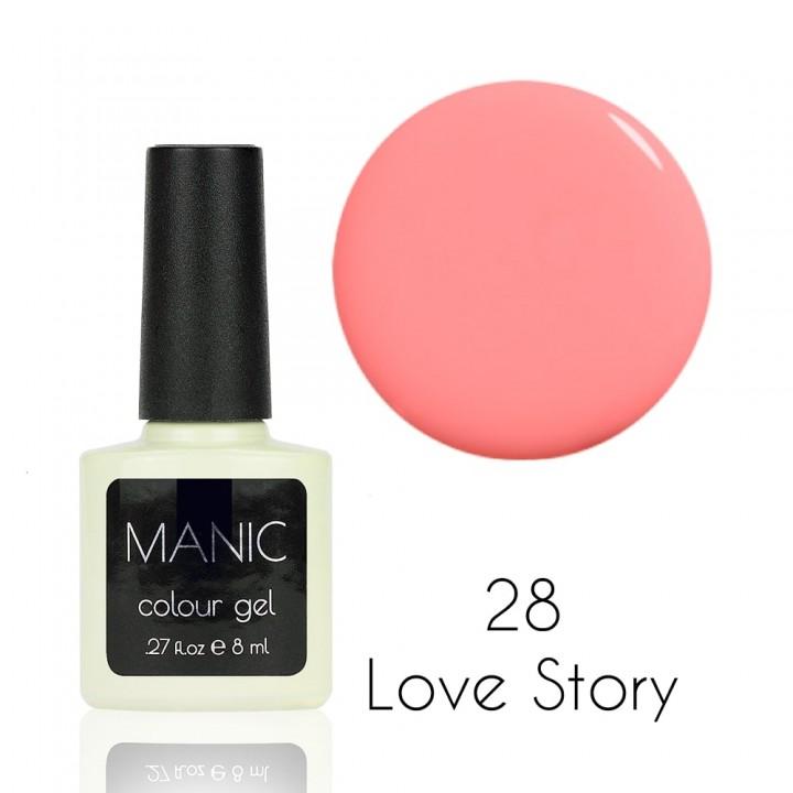 Гель лак для ногтей MANIC №28 Love Story