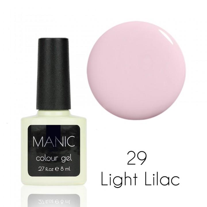 Гель лак для ногтей MANIC №29 Light Lilac